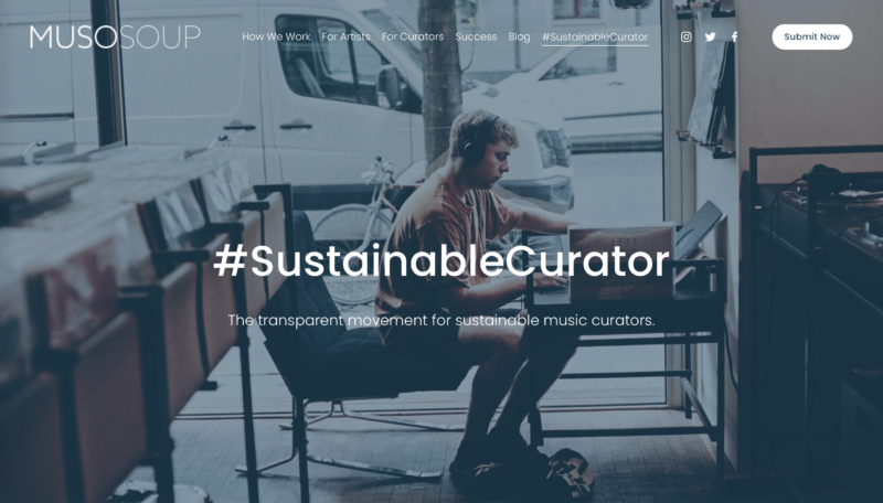 MusoSoup Sustainable Curator