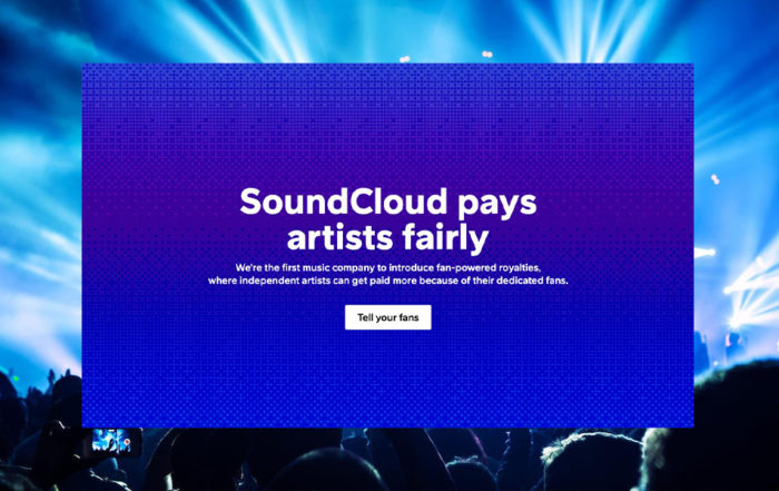 SoundCloud user centric UCPS fan powered royalties