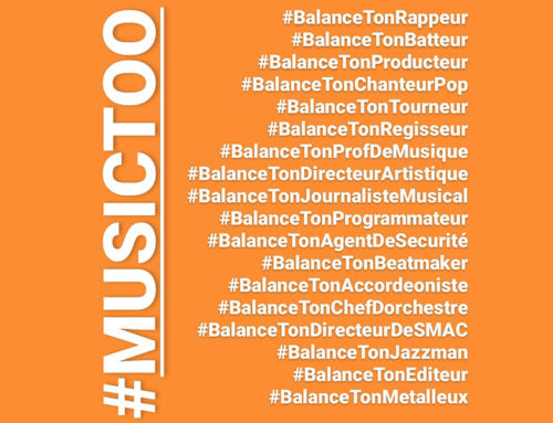 """After more than 3 years of hard work, the French association #MusicToo has shut down : it's """"the end… of a new beginning"""""""